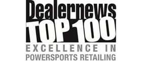 Jaguar Power Sports - Dealernews Top 100 Excellence in Powersports Retailing Award